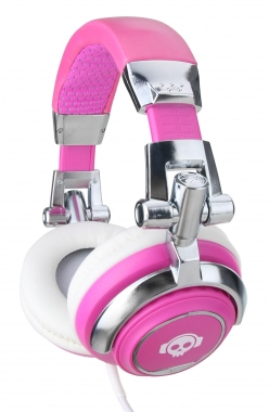 Pronomic SLK-40PK auriculares StudioLife fucsia incl. 3,5 / 6,35 mm adaptador