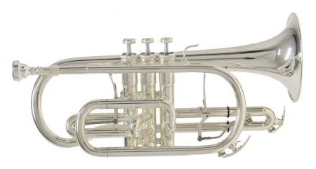 Bach CR651S Bb-Kornett versilbert