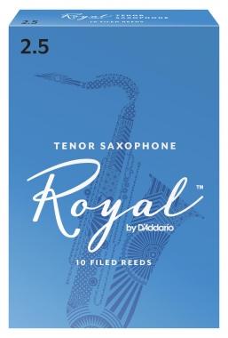 D'Addario Royal 10er Pack Tenorsaxophon Blätter Stärke 2,5