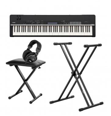 Yamaha CP4 STAGE Stagepiano-SET mit Pedal, Ständer, Bank und Kopfhörer