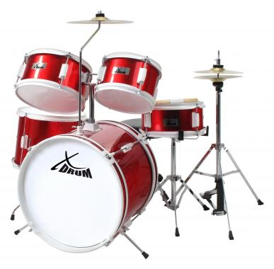 XDrum Junior Kids Drum SET Red