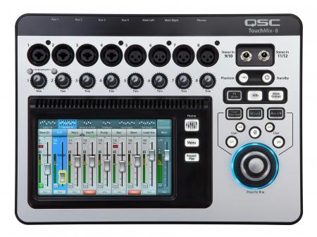 QSC TouchMix-8  - Retoure (Zustand: sehr gut)