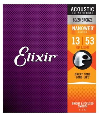 Elixir Akustik 80/20 Nanoweb HD Light