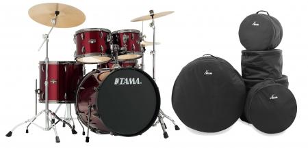 Tama IP52KH6N-BVTR Imperialstar Drumkit Vintage Red Set inkl. Gigbags