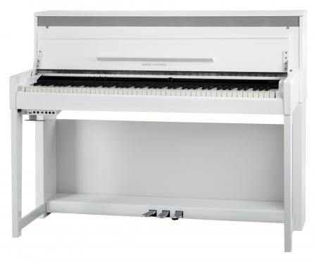 Classic Cantabile UP-1 WH Upright piano électrique blanc brillant