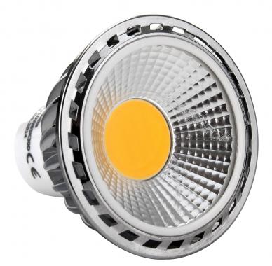 Showlite LED Spot GU10W05K30N 5 watts, 330 lumens, culot de l'ampoule GU10, 3000 kelvins