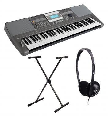 Classic Cantabile CPK-303 Keyboard Set incl. Stand and Headphones