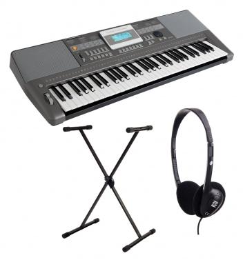 Classic Cantabile CPK-303 clavier set avec support et casque