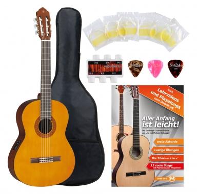 Yamaha CX40 Konzertgitarre SET inkl. Zubehörset