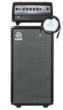 Ampeg SVT Micro-VR Head und Ampeg SVT-210AV Bass Box Set inkl. Kabel