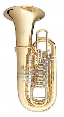 B&S 3100W F-Tuba Messing lackiert