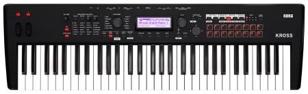 Korg Kross 2 Synthesizer Workstation 61 Tasten schwarz