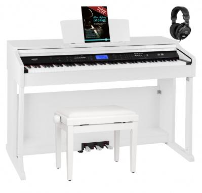 FunKey DP-2688A WM Digital Piano White Matte Set