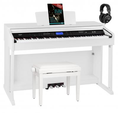 FunKey DP-2688A WM piano numérique blanc mat set