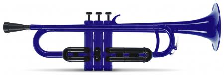 Classic Cantabile MardiBrass kunststof Bb trompet blauw