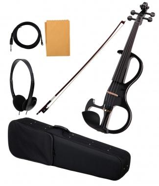 Classic Cantabile EV-90BK 4/4 E-Violine schwarz  - Retoure (Zustand: sehr gut)