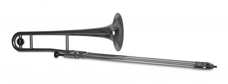 Classic Cantabile TROMBA Bb Tenor Kunststoff Posaune schwarz metallic