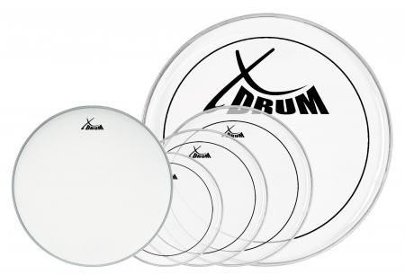 XDrum Session Peaux pour batteries complet 10/12/14/22+14""
