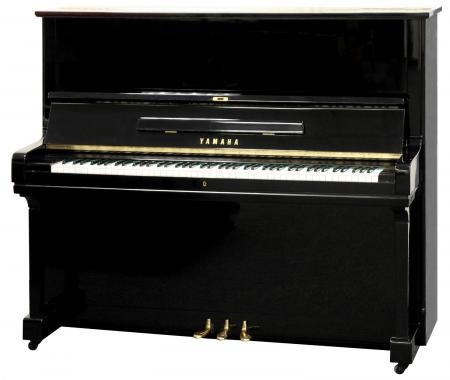 Yamaha U3 Klavier Schwarz Poliert - Generalüberholt