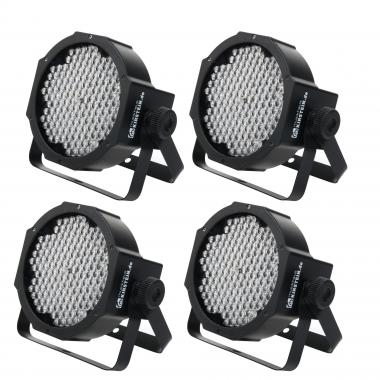 Showlite FLP-144 Flatline Panel LED,144x 10mm - 4er Set