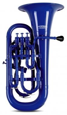 Classic Cantabile MardiBrass plastic Bb Euphonium blue