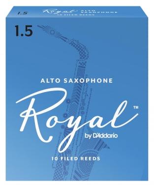 D'Addario Royal 10er Pack Altsaxophon Blätter Stärke 1,5