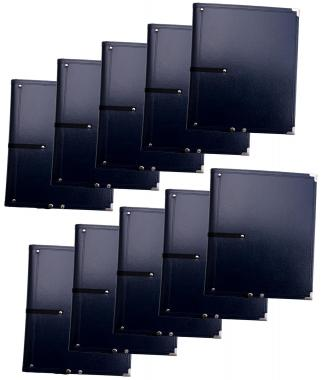 Classic Cantabile B16BL Partition Folder Deluxe Blue 10x Set