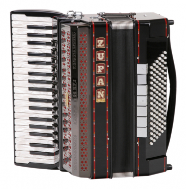Zupan Alpe V 96 EF Cassotto Accordion (black)