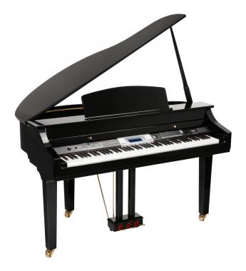 Classic Cantabile GP-500 Digital Piano Black High Polish