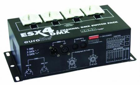 Eurolite ESX-4 DMX Switchpack  - Retoure (Zustand: akzeptabel)