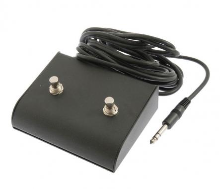 Catfish Fußschalter/-Pedal doppelt mit 5m Kabel  - Retoure (Zustand: sehr gut)