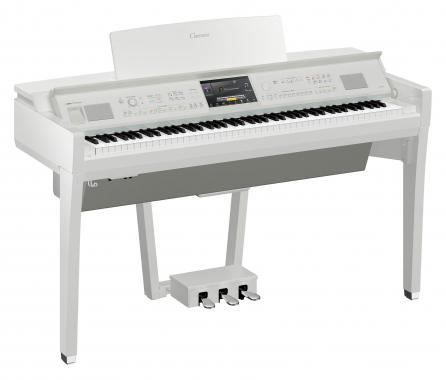 Yamaha CVP-809 PWH Digitalpiano Weiß Hochglanz