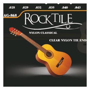 Rocktile Cordes pour guitare acoustique « Super Light »