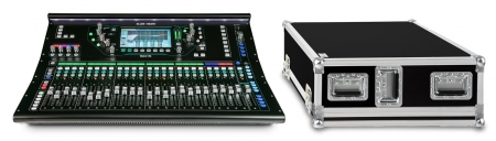 Allen & Heath SQ-6 Digital Mischpult Set mit Case