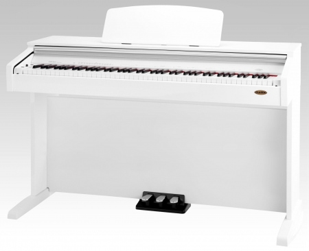 Classic Cantabile DP-210 WH piano electronico, blanco brillante