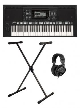 Yamaha PSR-S775 Keyboard Set inkl. Kopfhörer & Ständer