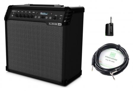 Line6 Spider V 60 Verstärker Set inkl. Wireless Transmitter & Kabel
