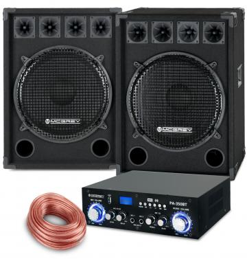 McGrey PA set complet PowerDJ-2500 1600W