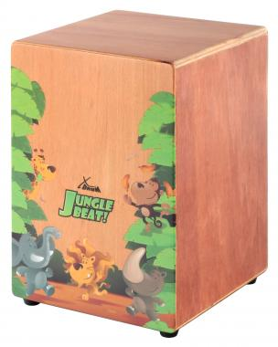 XDrum Jungle Beat cajón para niños con bolso