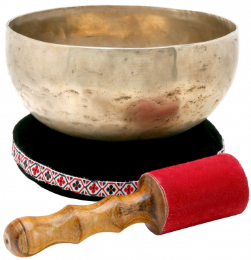 XDrum Campana tibetana 17 cm SET cuscino incluso