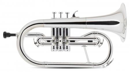 Classic Cantabile MardiBrass bugle Sib en plastique argenté