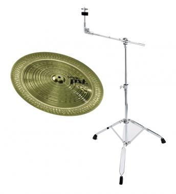 "Paiste 18"" PST 3 China + Galgenständer Set"