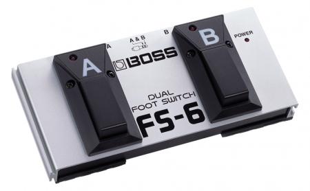 Boss FS-6 Pedal Conmutador dual