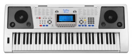 FunKey 61 Plus Keyboard inkl. Netzteil und Notenhalter  - Retoure (Zustand: sehr gut)