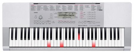 Casio LK-280 Leuchttasten-Keyboard: 61 Tasten, Mikrofoneingang, USB, Sampling, SD-Kartenschacht