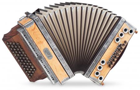 Loib Harmonika IVD Erle G-C-F-B