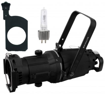 Showlite GL060 36° Profielschijnwerper met reservelamp en gobo houder