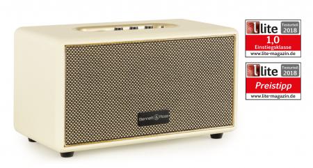 Bennett & Ross BB-860CW Blackmore Bluetooth Speaker Cream White