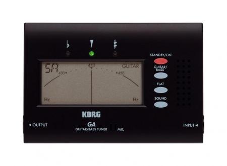 Korg GA-40 Afinador para guitarra y bajo