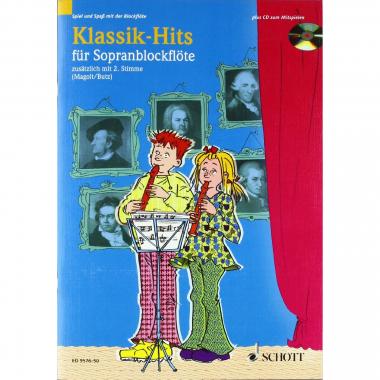Klassik-Hits für Sopranblockflöte